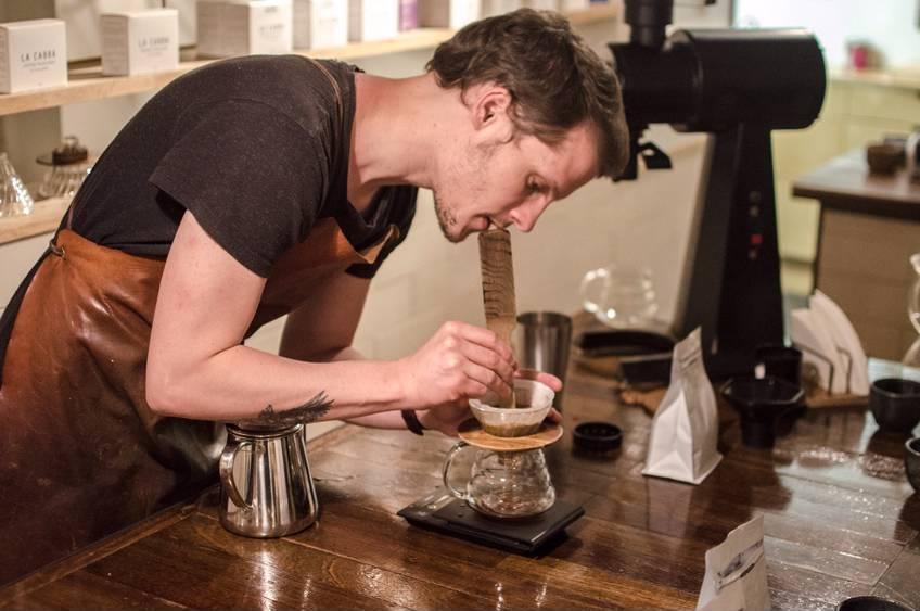 Kaffekursus i Jylland