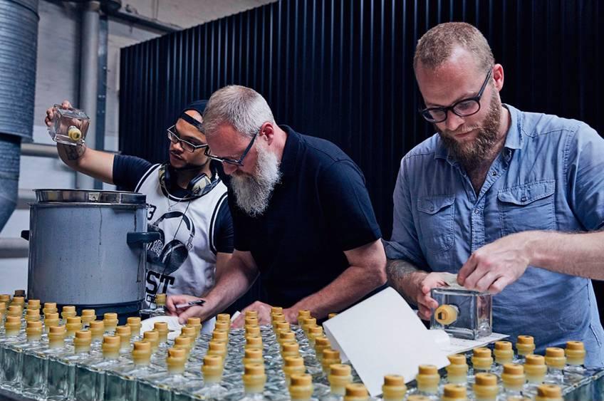 Smagsoplevelse hos Copenhagen distillery