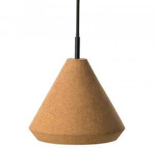 Lampe af kork - korklampe